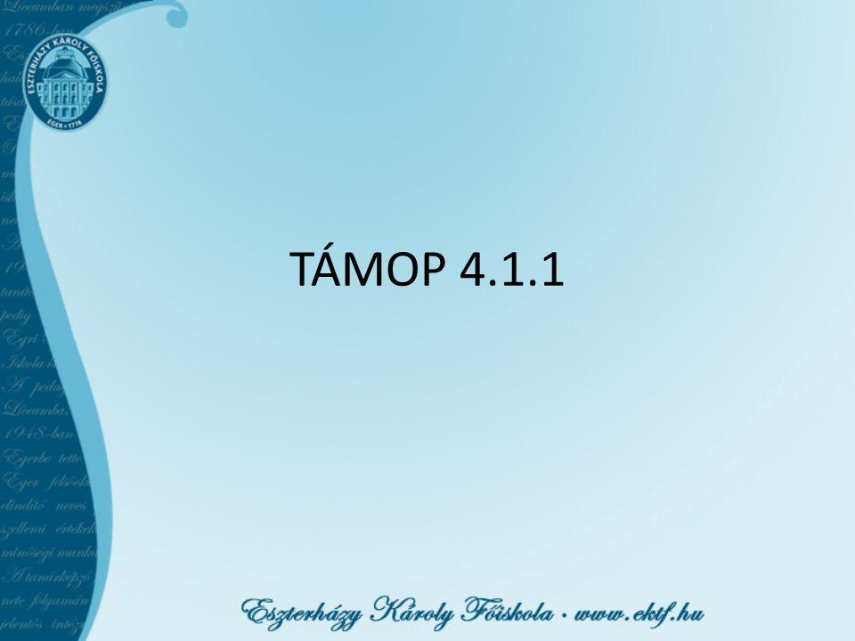 TÁMOP 4.1.1