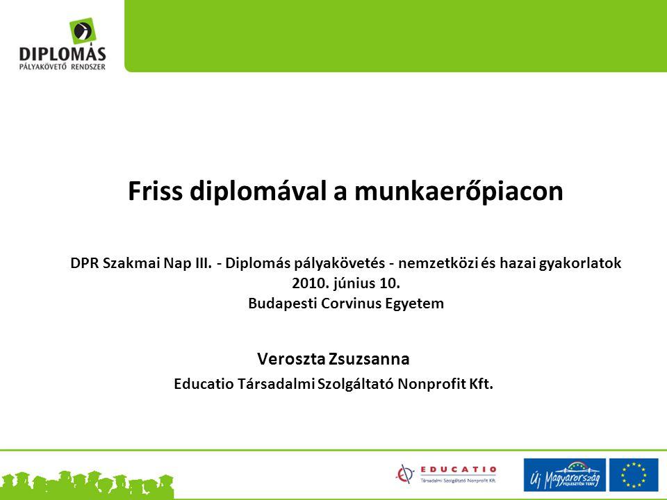 Friss diplomával a munkaerőpiacon DPR Szakmai Nap III.