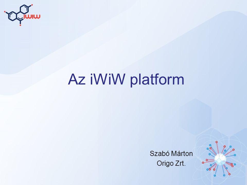 Az iWiW platform Szabó Márton Origo Zrt.