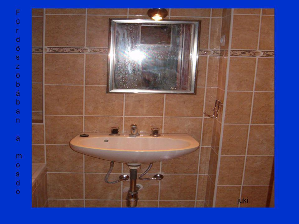 Fűrdőszöbában a mosdóFűrdőszöbában a mosdó