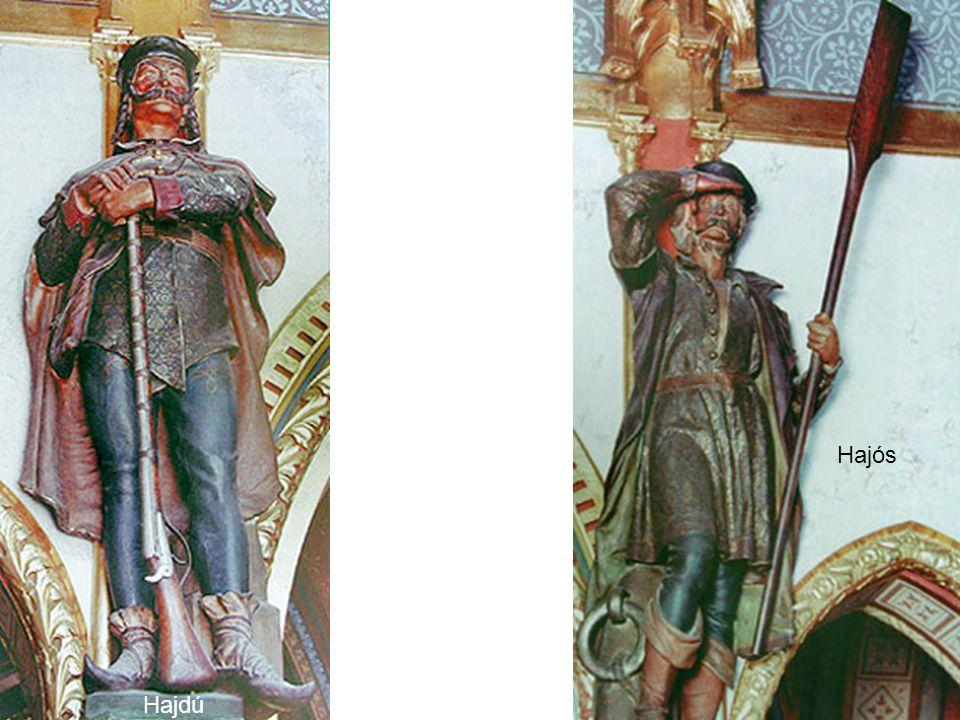 BölcsészOrvos Mesterségek szobrai