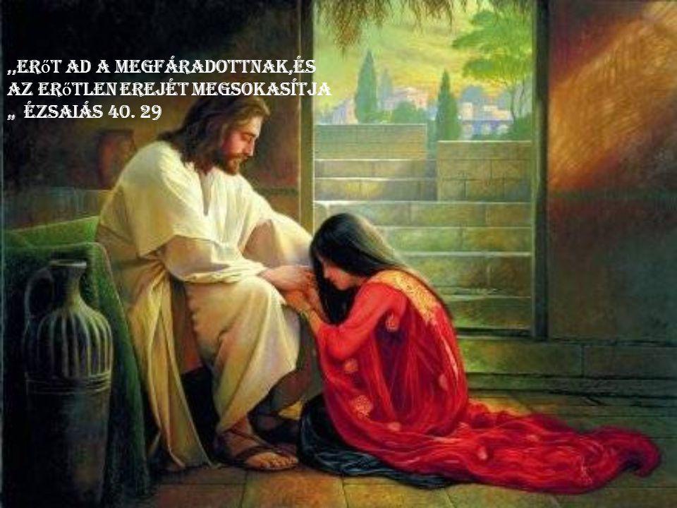 Jöjjetek én hozzám mindnyájan, a kik megfáradtatok és megterheltettetek, és én megnyugosztlak titeket.