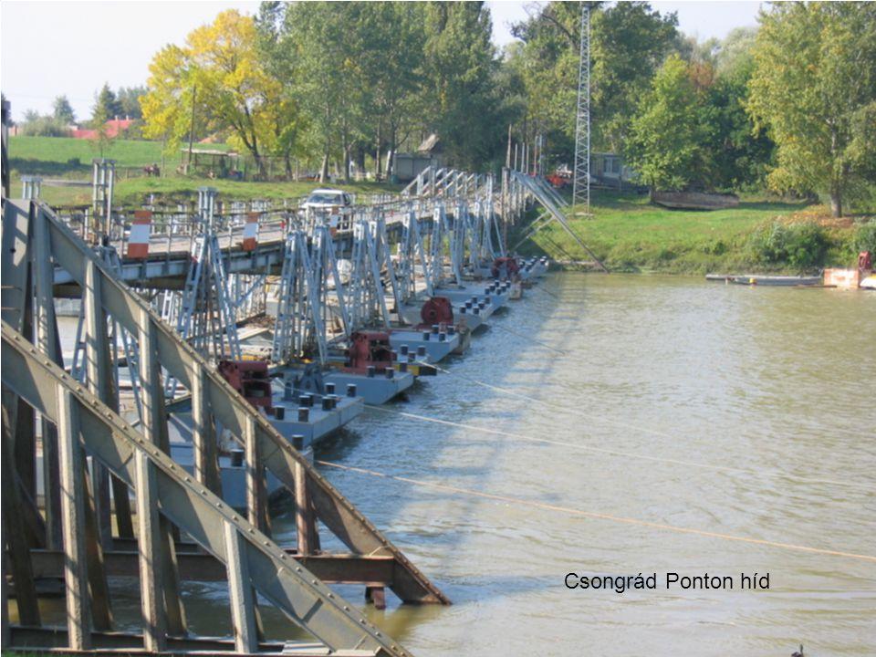 Csongrád Ponton híd