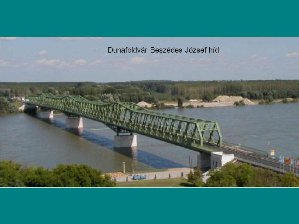 Dunaföldvár Beszédes József híd