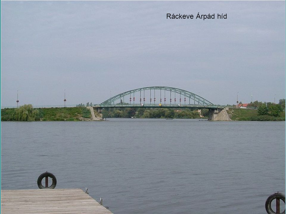 Ráckeve Árpád híd