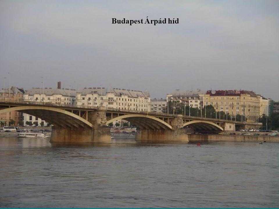 Budapest Árpád híd