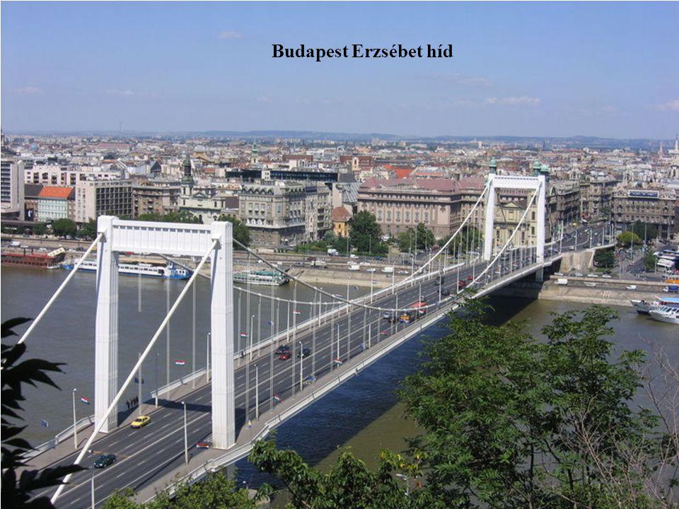 Budapest Erzsébet híd
