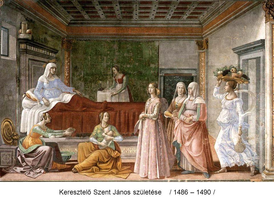 Az angyal megjelenik Zakariásnak / 1486 – 1490 /