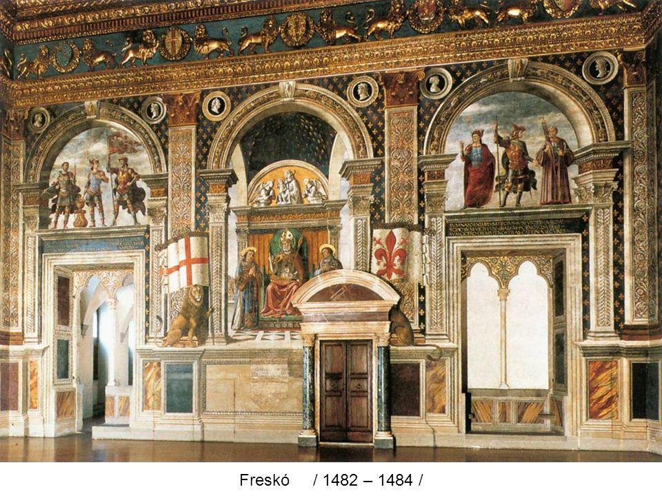 Heródes lakomája / 1486 – 1490 /