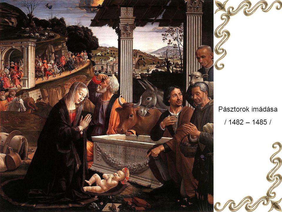 Heródes lakomája ( részlet ) / 1486 – 1490 /