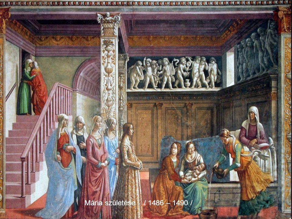 Mária születése / 1486 – 1490 /