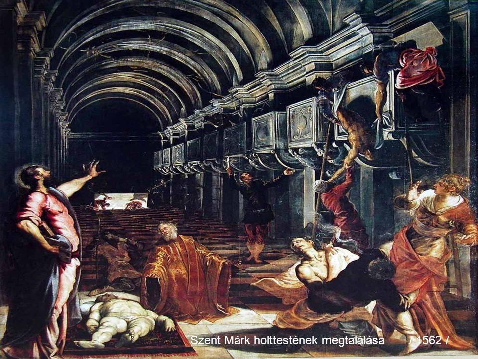 Szent Márk holttestének megtalálása / 1562 /