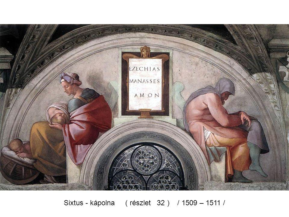 Sixtus - kápolna ( részlet 30 ) / 1509 – 1511 /