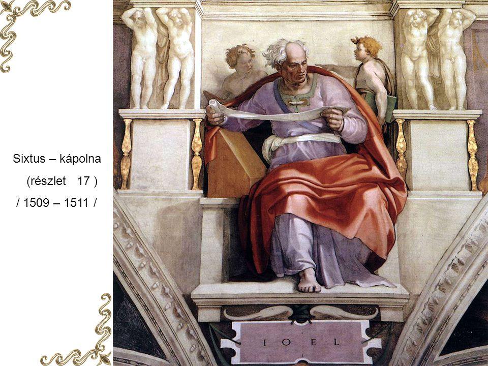 Sixtus - kápolna ( részlet 27 ) / 1509 – 1511 /