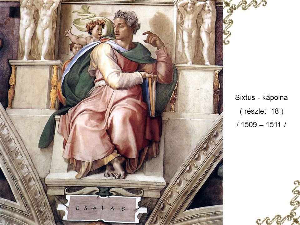 Sixtus - kápolna ( részlet 28 ) / 1509 – 1511 /