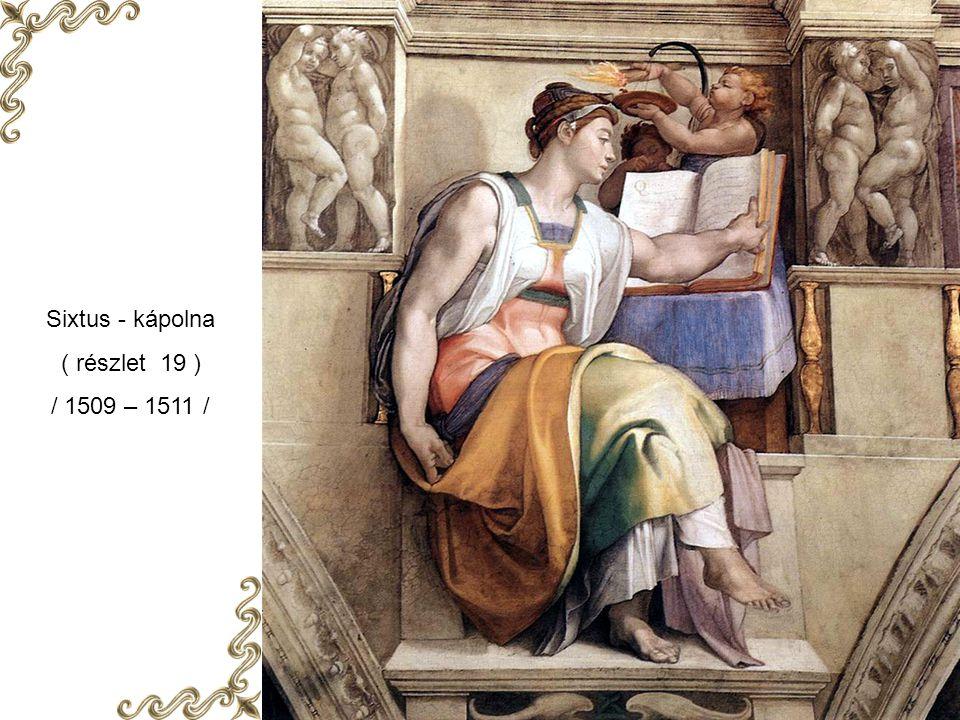 Sixtus - kápolna ( részlet 18 ) / 1509 – 1511 /