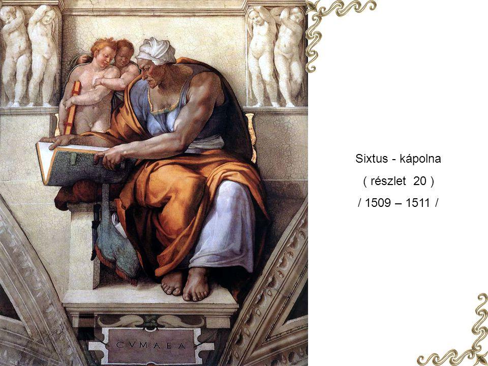 Sixtus - kápolna ( részlet 19 ) / 1509 – 1511 /