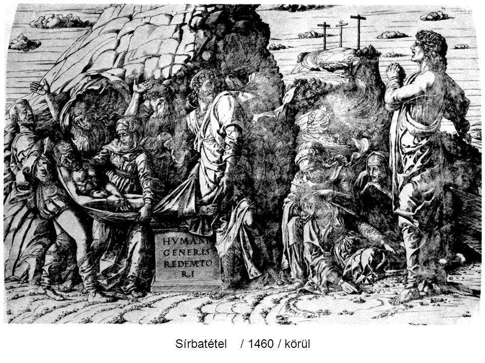 Krisztus az olajfák hegyén / 1459 /