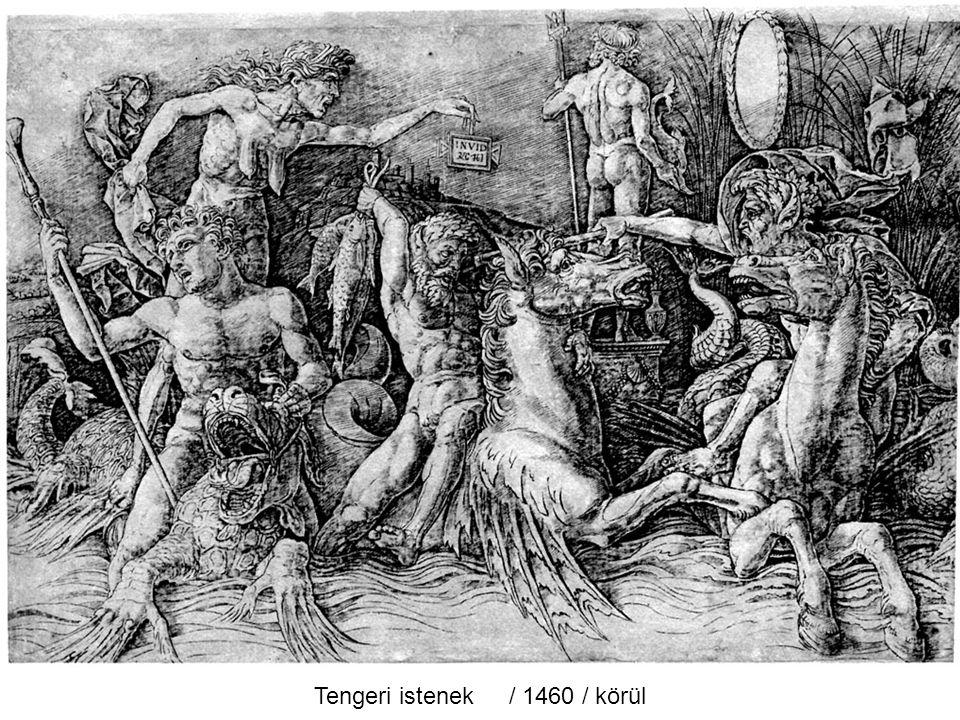 Sírbatétel / 1460 / körül