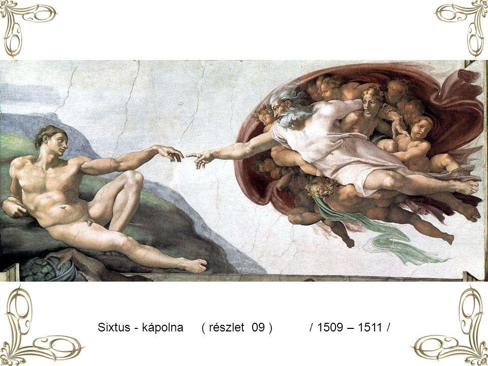 Sixtus – kápolna (részlet 08 ) / 1509 – 1511 /