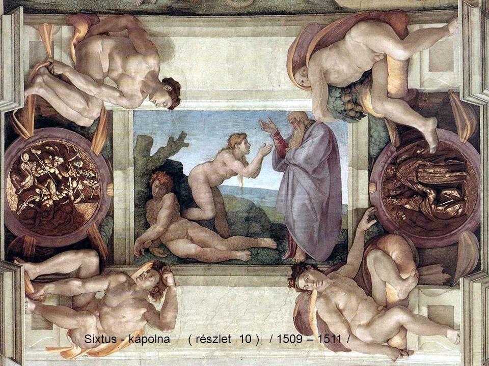 Sixtus - kápolna ( részlet 09 ) / 1509 – 1511 /