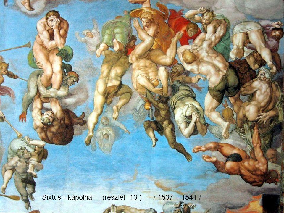 Sixtus - kápolna (részlet 06 ) / 1537 – 1541 /