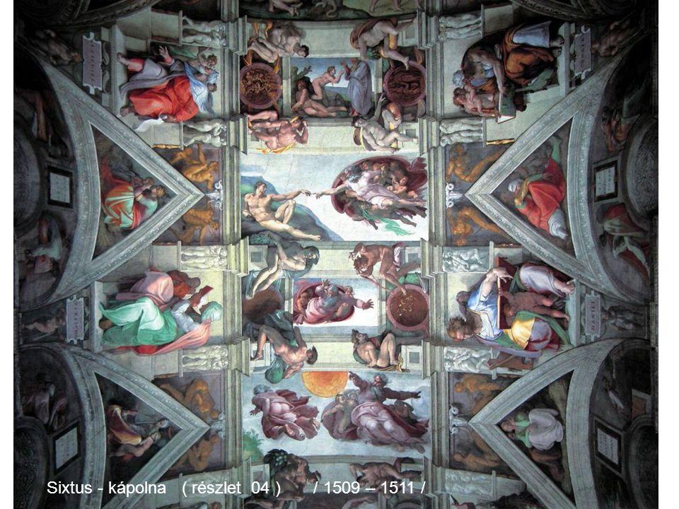 Michelangelo Sixtus - kápolna (részlet 03 ) / 1509 – 1511 /