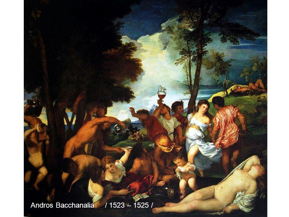 Bacchus Ariadne / 1520 – 1523 /
