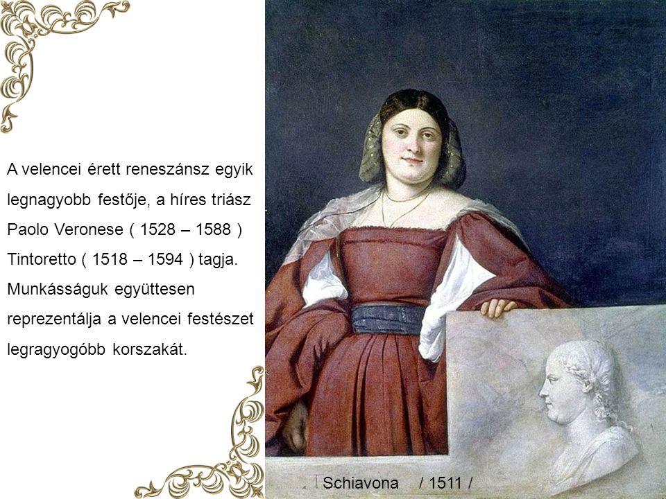 Tiziano Születési dátuma bizonytalan Veneto – 1485 ? Elhunyt: egy pestis járvány miatt Velence 1576.08..27. V. Károly udvari festője lett. Elbűvölő, j