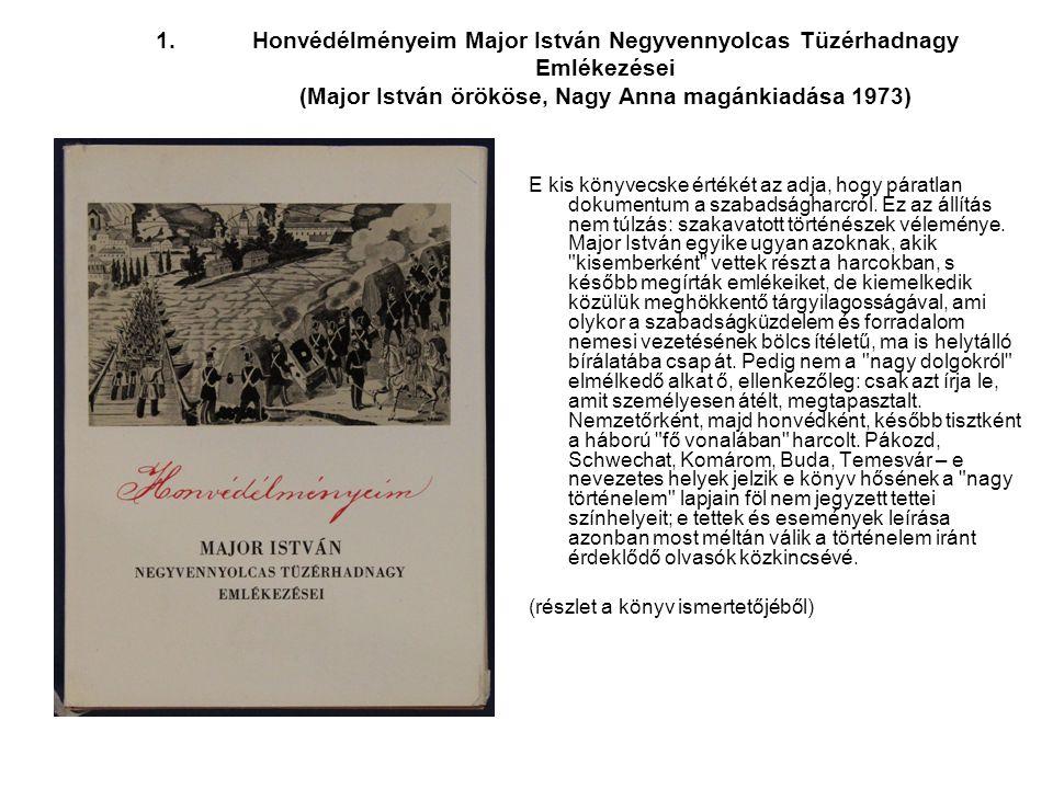 2.Angyal Béla: Gúta és Környéke 1848-49-ben (Dunaszerdahely, 1997).
