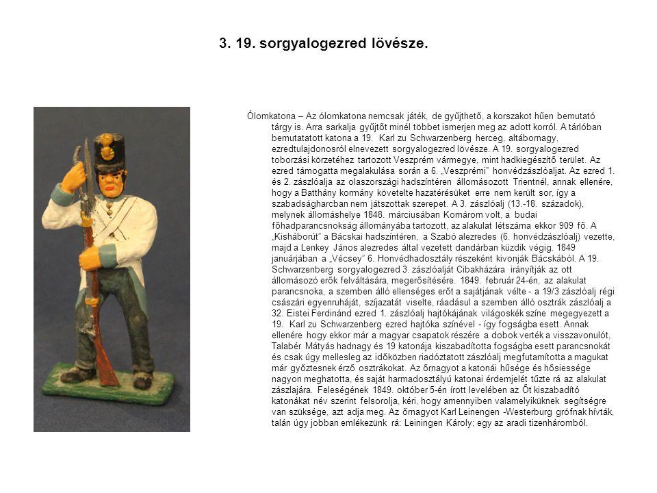 4.Honvédtoborzás Vincenz Katzler litográfiája, 1850.