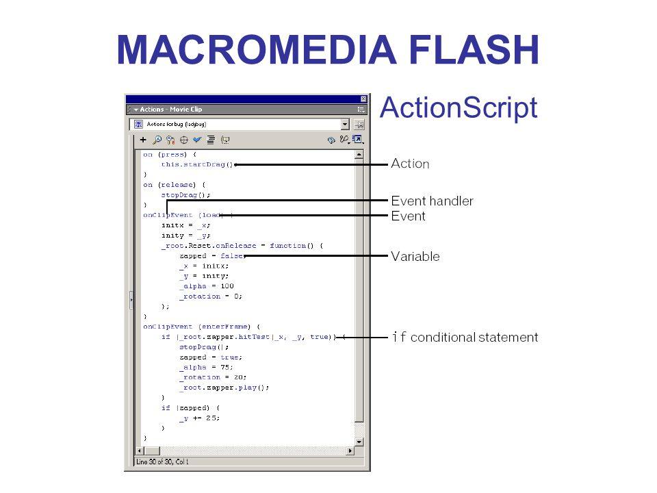 MACROMEDIA FLASH ActionScript