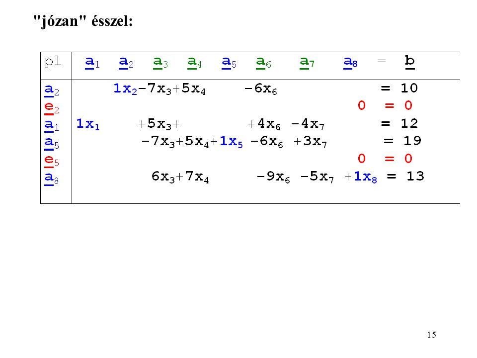 16 x B =[x 2, x 1, x 5, x 8 ], x R =[x 3, x 4, x 6, x 7 ], r = 4, s = 4.