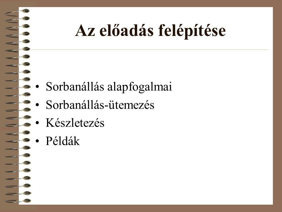 Készletezési alapmodellek 2.