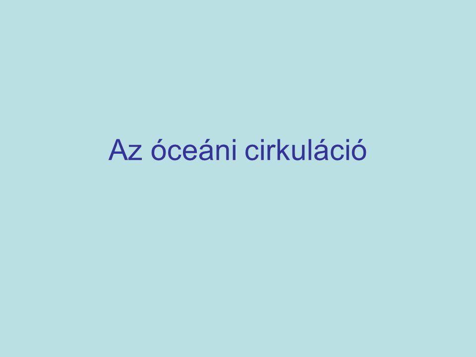 Az óceáni cirkuláció