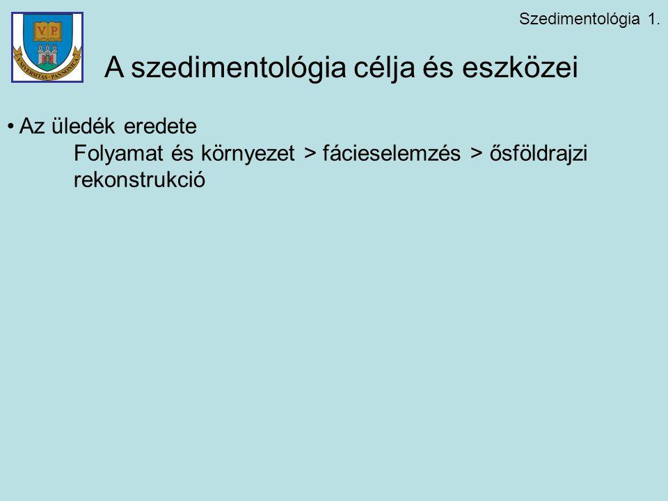 Szedimentológia 1.