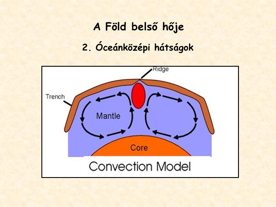 A Föld belső hője 2. Óceánközépi hátságok