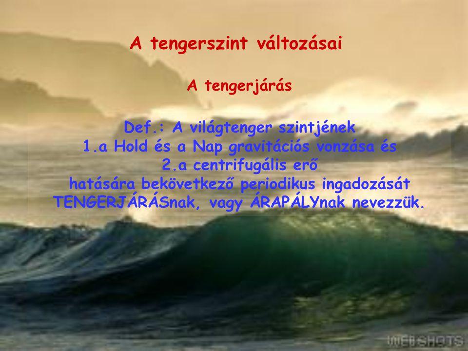 A tengerszint változásai A transzgressziók és regressziók okai Globális tényezők 1.a tengervíz összmennyiségének változásai 2.az óceáni medencék befogadó képességének változásai