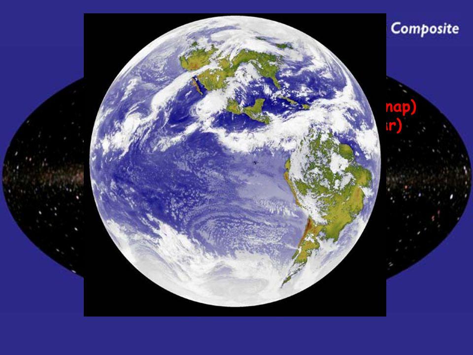 A belső Naprendszer - Föld a Naptól számított 3. bolygó gyors keringés (1 év ≈ 365 földi nap) r: 6378 km m: 5,98*10 24 kg ρ: 5,52 gcm -3 T min : -10°C