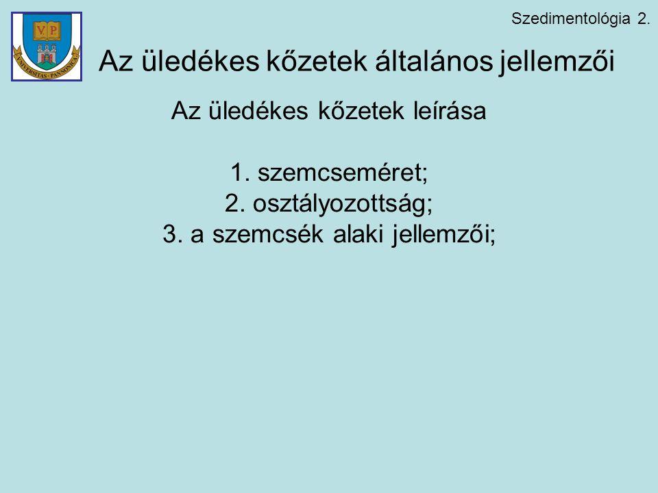 Szedimentológia 2.