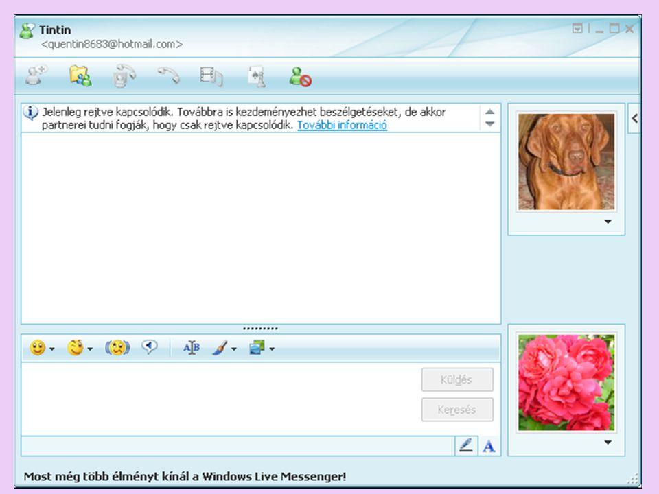 Technikai lehetőségek – Nyelvi megvalósítás sms – 160 karakter; MSN – nincs térbeli korlátozás, sem időkorlát; Billentyűzet szabta határok – helyesírási hibát provokáló klaviatúra Emotikonok = smiley-k?; Pótolhatók-e a szupraszegmentális elemek.