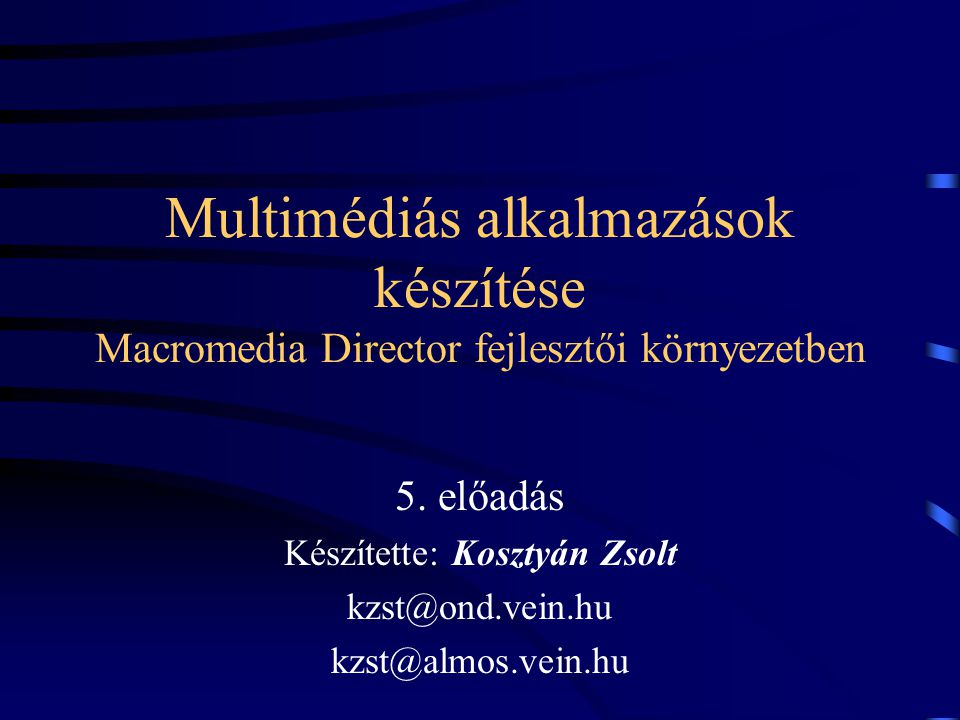 Adatbázis kezelés II DBCreate( FRIENDS ,6, dbFields, false ) DBCreateIndex(index-file, num-tags, tags, overwrite- flag)
