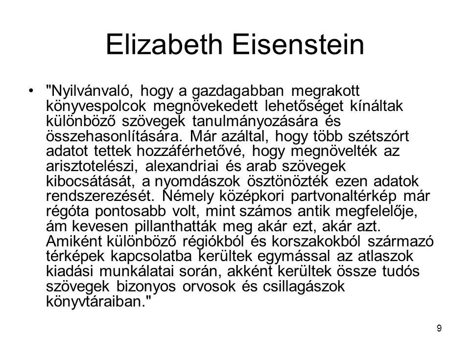 9 Elizabeth Eisenstein