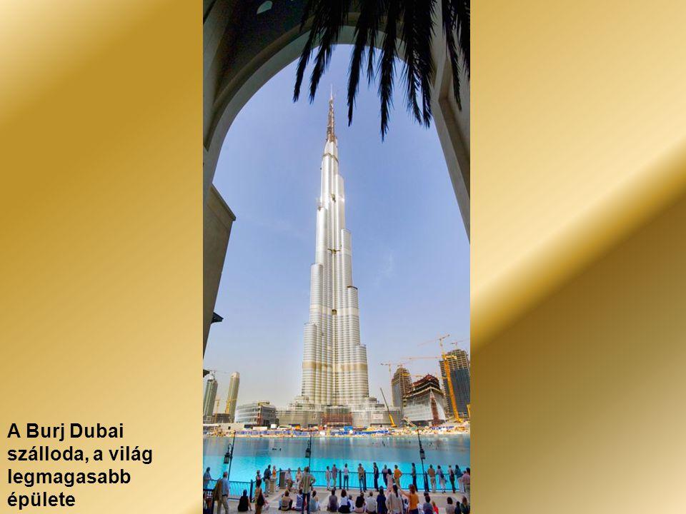 Dubai – A Burj al Arab szálloda és a Medinat
