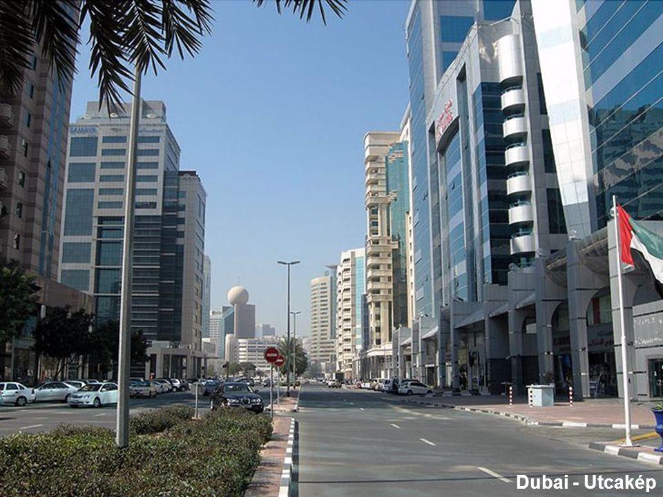 Dubai – építészeti remekmű