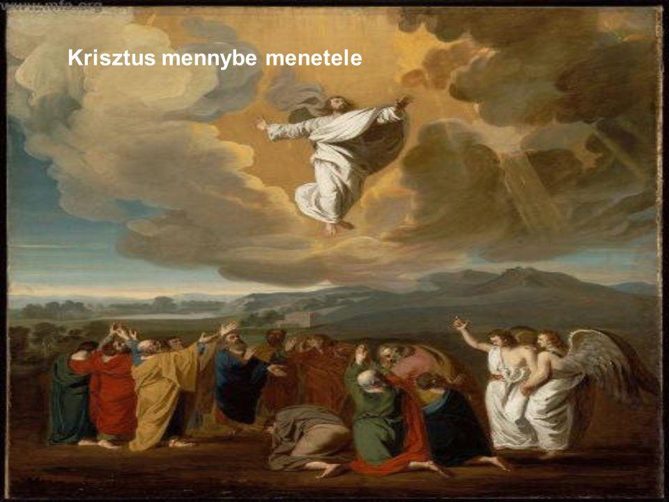 Krisztus mennybe menetele