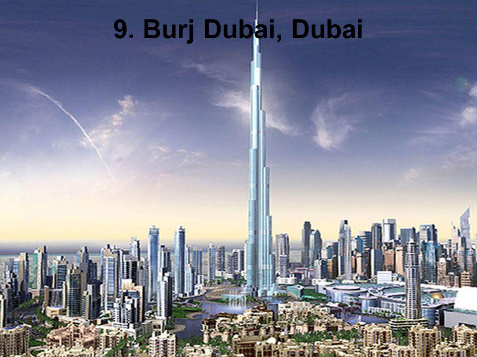 9. Burj Dubai, Dubai