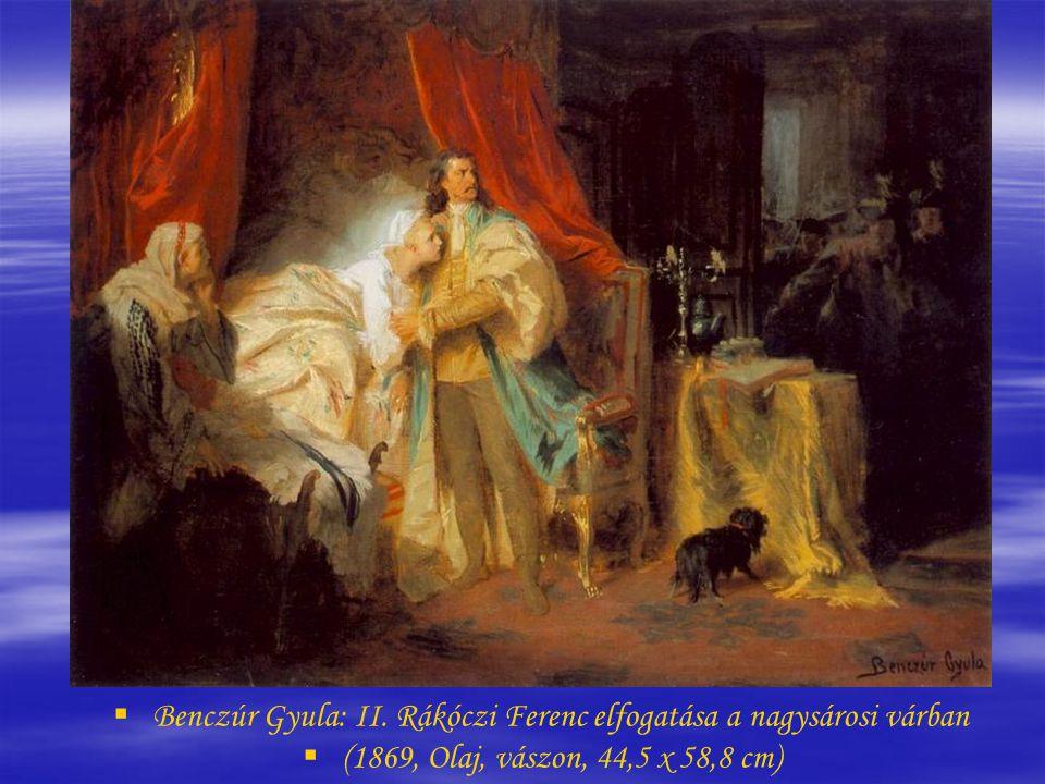   Székely Bertalan: Thököly Imre menekülése (Thököly Imre búcsúja)   (1873, Olaj, vászon, 159 x 222 cm)