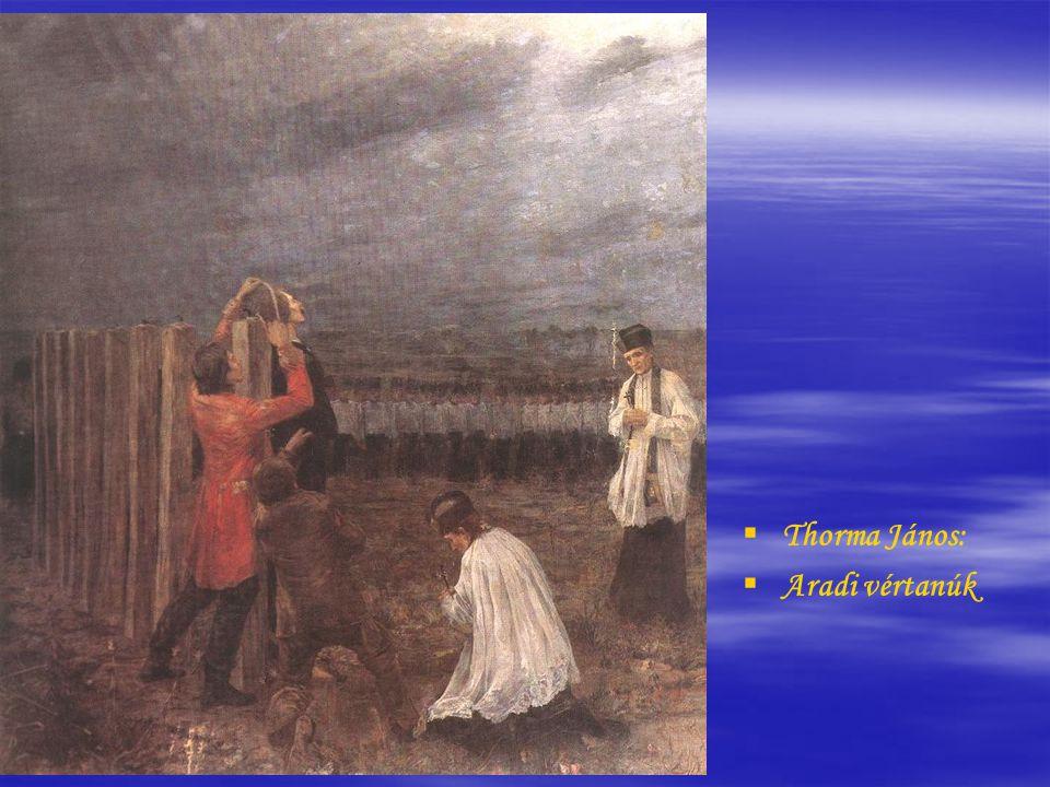   Than Mór: Honvédtisztek tábortűznél   (1849-50,)   (Vízfestmény és gouache, papír, 24 x 21,9 cm)
