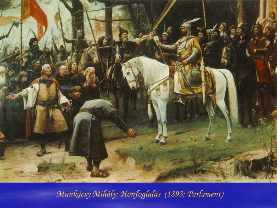 Munkácsy Mihály: Honfoglalás (1893; Parlament)
